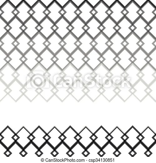 Seamless gray scale pattern from square intersections