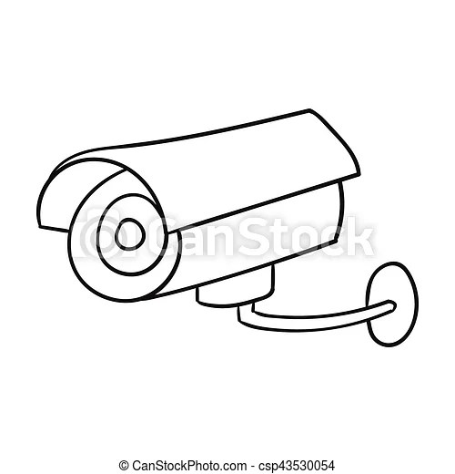 Security Camera Symbol Drawings