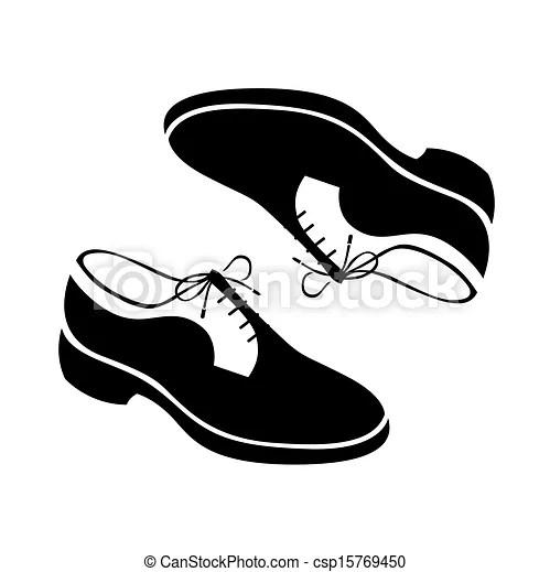 Shoes vector illustration.