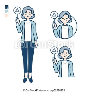 triangle senior panel woman simple easy put suit drawings