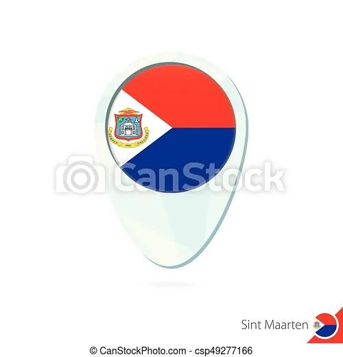 sint maarten flag location