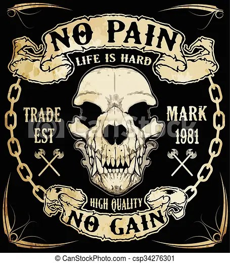 skull graphic design with