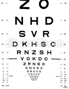 Snellen eye chart that can be used to measure visual acuity optometry background and eyes health care concept also rh canstockphoto