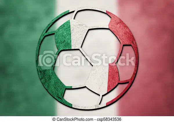 soccer ball national italy