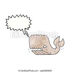 speech angry bubble textured cartoon whale clipart freehand