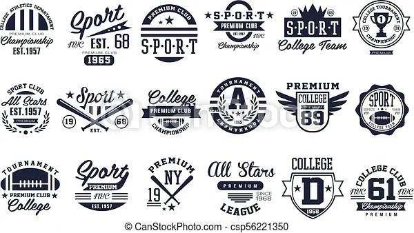 sport club logo design