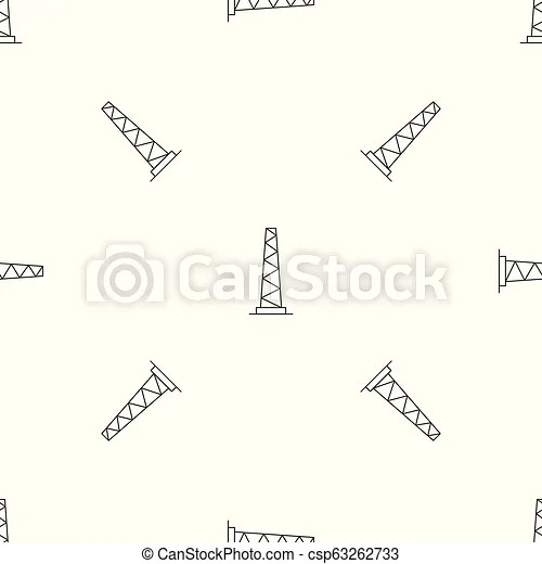 Tall pole pattern seamless vector repeat geometric for any