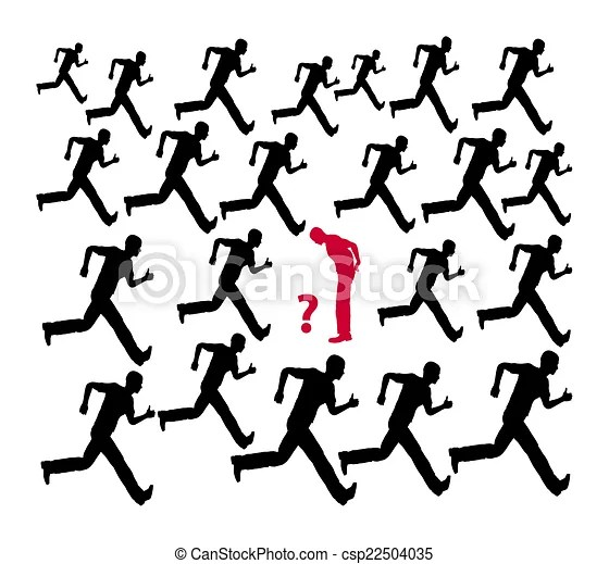 Think twice. Do not follow the crowd or the common run of