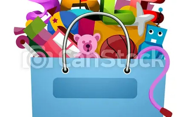 Toys Sale Flyer Design Stock Illustrations Search Eps