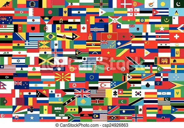 vector flags of all
