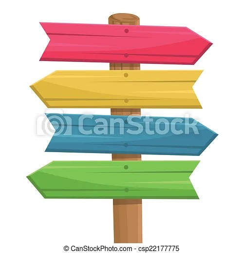vector of wooden route