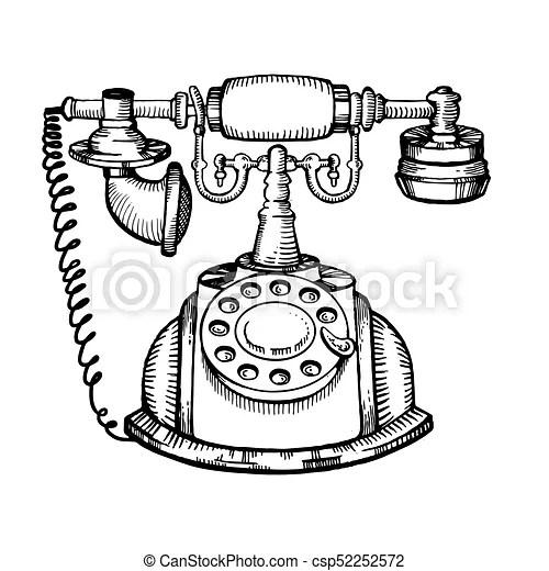 Rotary Dial Telephone Ledningsdiagram