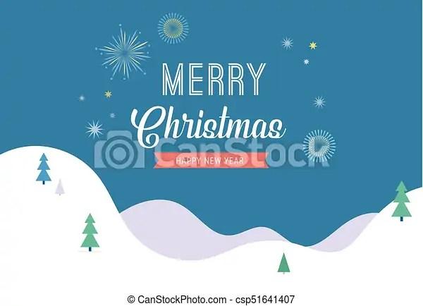 winter wonderland merry christmas