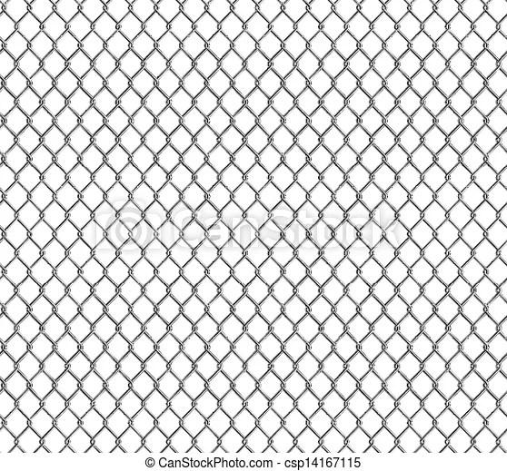 Wire mesh, seamless.