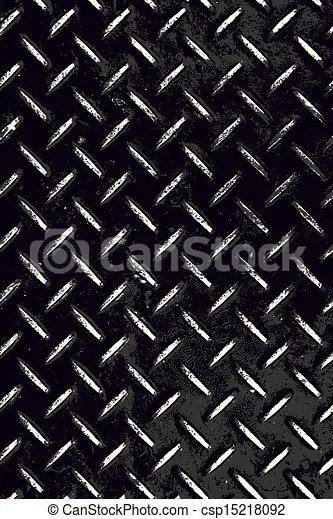 Diamond Plate Clipart : diamond, plate, clipart, Diamond, Plate, Grunge., Rough, Textured, Contrast, Background, Black, White., CanStock