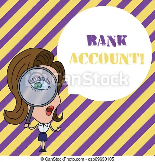 Writing Note Showing Bank Account Business Photo Showcasing Represents The Funds That A Customer Has Entrusted To The Bank