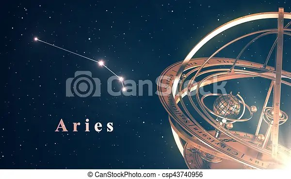 zodiac constellation aries and