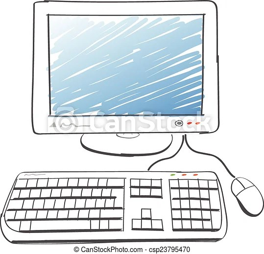 Edv. zeichnung. Weißes. edv. hintergrund. abbildung. zeichnung. | CanStock