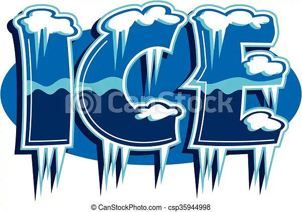 Geleistet firma schnee eis werbung eiszapfen logo oder