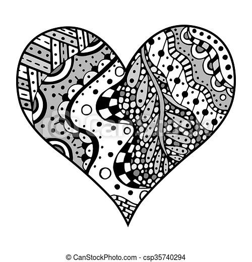 EPS-vectorer af Mønstre, firmanavnet, tangle, Hjerter