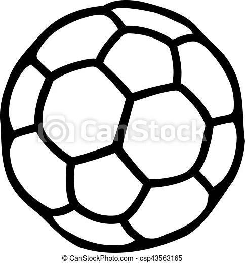Håndbold, bold, pictogram.