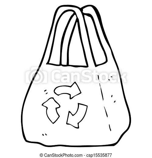 Stock de ilustraciones de bolsa, caricatura, Reutilizable