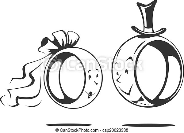 Image Result For Wedding Rings Logo Black And White