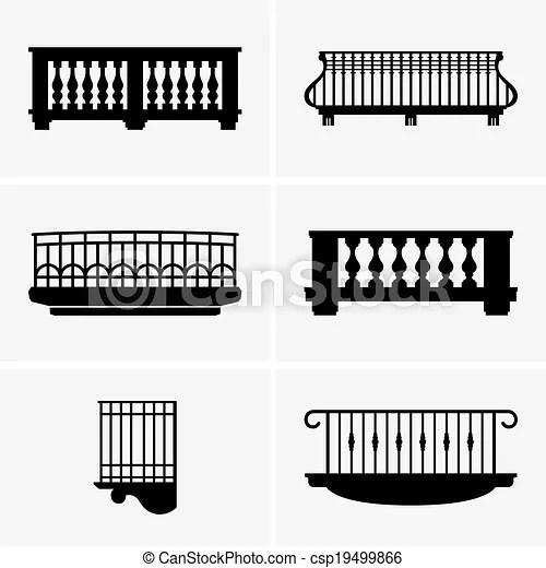 Ensemble, balcons.
