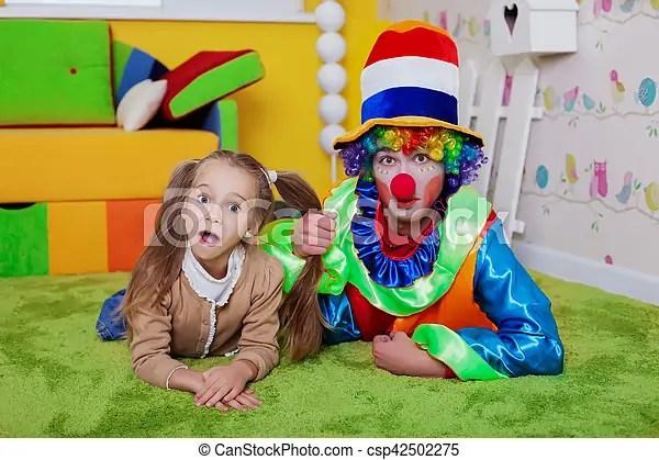 Amazing Photo Mensonge Nursery Moquette Clown Enfant With