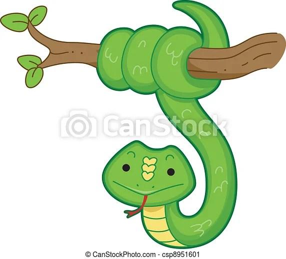 Vecteur Serpent
