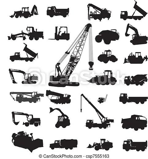 Construisant matériel, construire. Grand, équipement