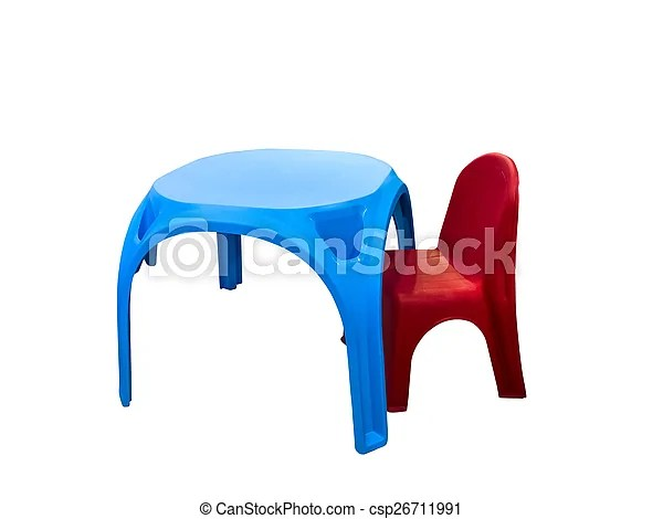 https www canstockphoto fr enfants chaise plastique table 26711991 html