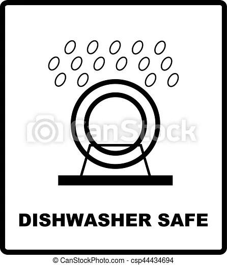 Symbole De Lave Vaisselle