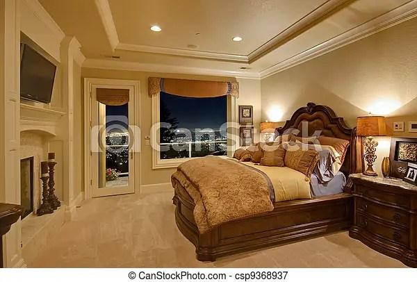maison luxe chambre a coucher