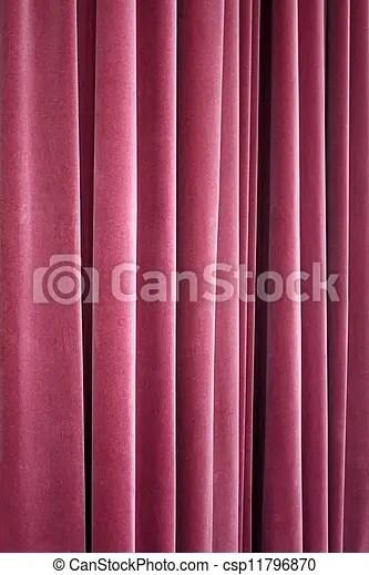 theatre velours rideau rouge
