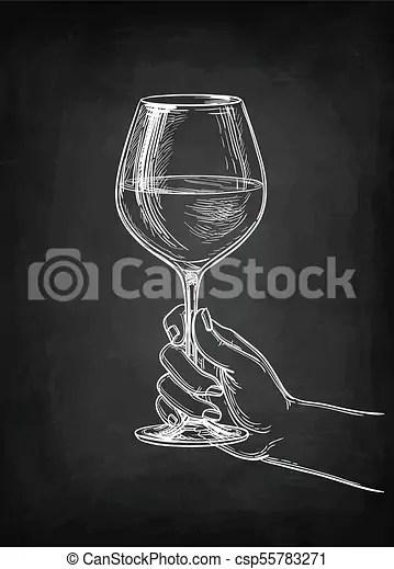https www canstockphoto fr verre vin tenant main 55783271 html