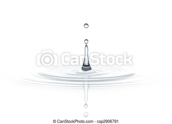 跌水. 建立. 下降. 針對. 水. 背景. 波紋. 白色. | CanStock