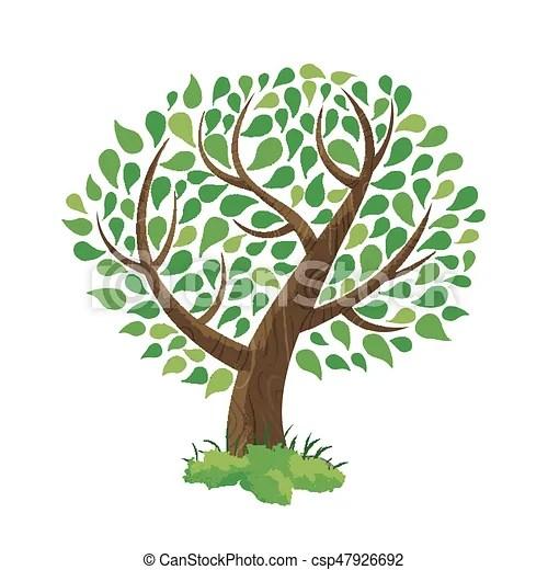 風格. 概念. 樹. 插圖. 手. 綠色. 畫. 做. 葉子. vector.. 鮮艷. 自然. 樹. 手. 環境. 概念. 綠色的植物. 畫. care.. eps10 ...