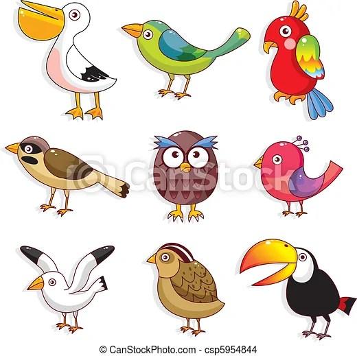 鳥, 卡通, 圖象 - 卡通, 鳥, 圖象csp5954844 的向量 EPS 圖片 - 搜尋美工圖片,插圖,圖示和向量美工圖像