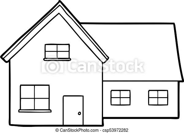 Cartoon house.