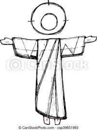 Risurrezione, cristo, ges. Cristo, illustrazione, ges ...