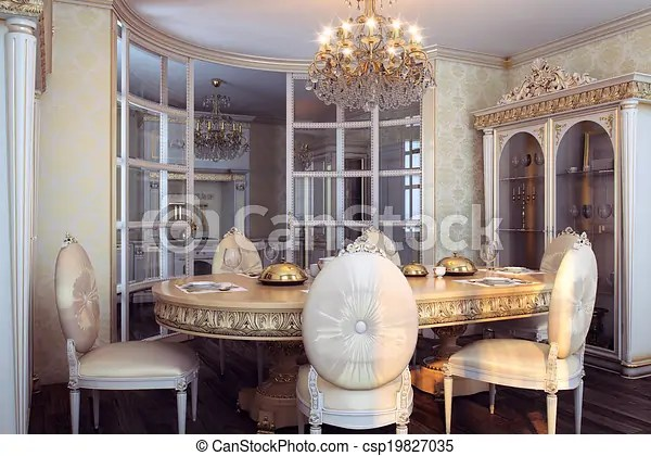Interieur barok koninklijk meubel Interieur barok