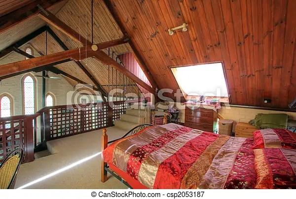Koning modieus grootte slaapkamer Koning woning kerk