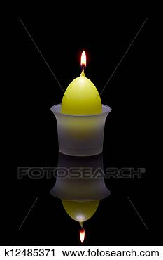 Stock Photography - Paschal candle in a glass candlestick. Fotosearch - Search Stock Photos, Pictures, Prints, Images, and Photo Clip Art