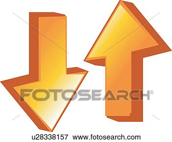 clip art of upper and lower