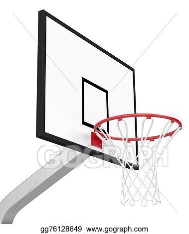 Basketball Hoop Drawing : basketball, drawing, Drawings, Basketball, Hoop., Stock, Illustration, Gg76128649, GoGraph