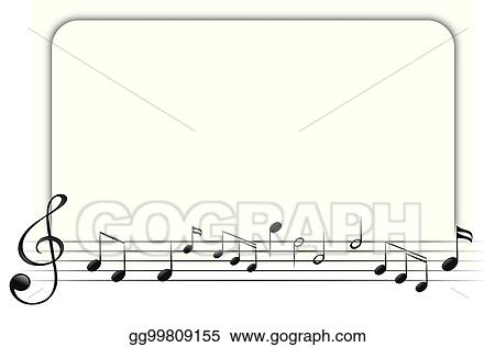 Beaufiful Music Border Template Images Gallery. Music