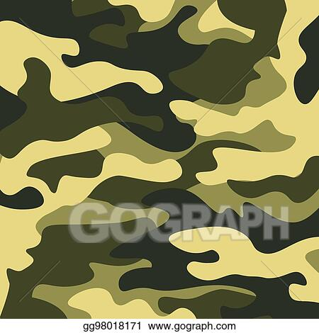 eps vector camouflage pattern