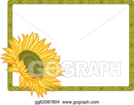 vector stock - country sunflower
