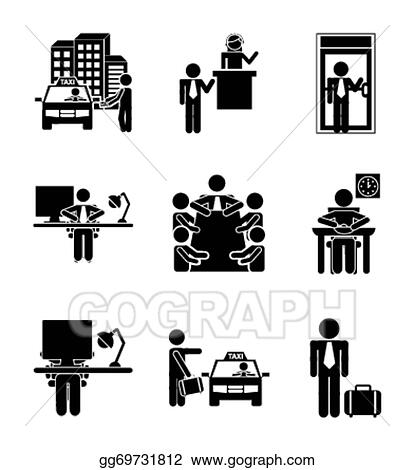 Clip Art for Daily Routine